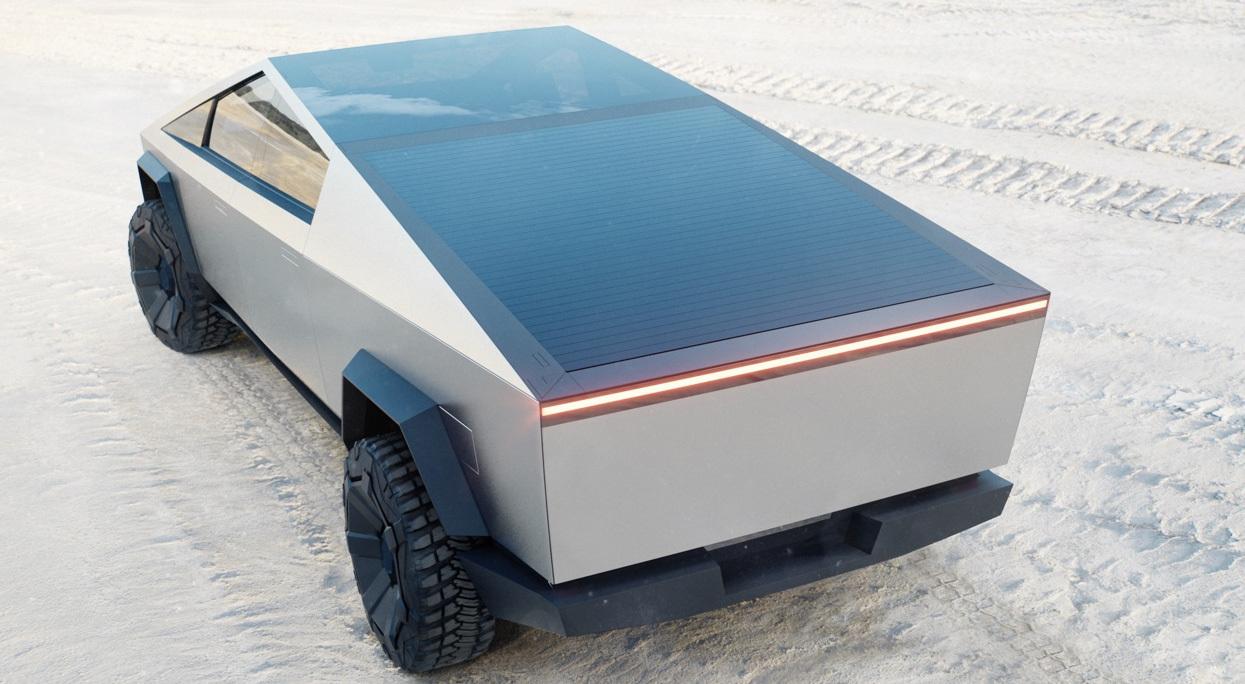 Bán tải Tesla Cybertruck sẽ có tính năng đánh lái bằng bánh sau