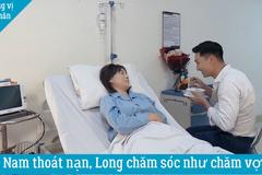 'Hương vị tình thân' tập 56, Nam thoát chết được Long chăm như vợ