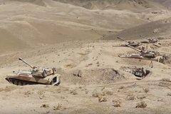Xem pháo binh và máy bay không người lái Nga 'song kiếm hợp bích'