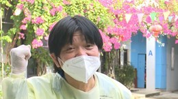 Japanese teacher helping Bac Giang fight COVID-19