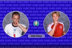 Xem trực tiếp Anh vs Đan Mạch ở đâu, kênh nào?