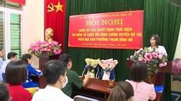 Urban governance model piloted in Hanoi