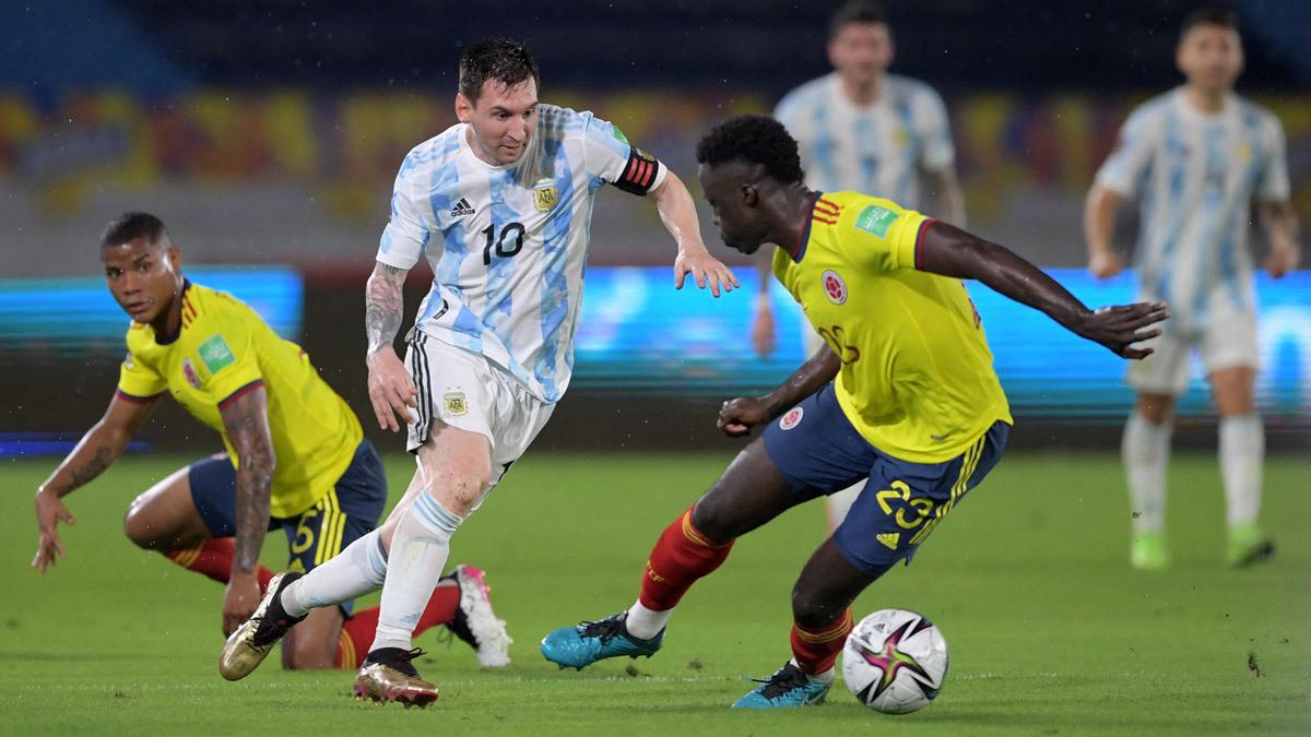 Kèo Argentina vs Colombia: Gọi tên Messi
