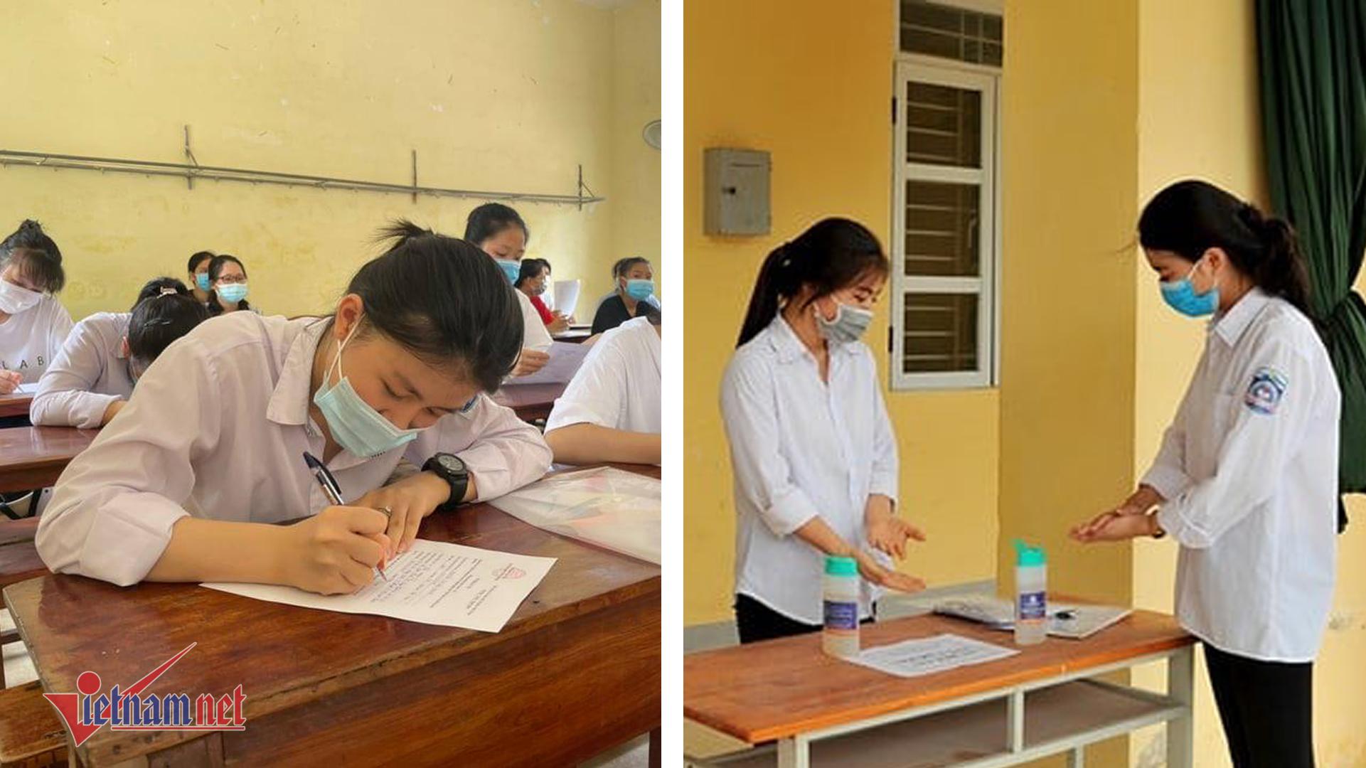 thi tốt nghiệp THPT,học sinh
