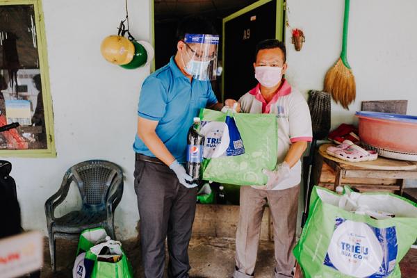 Cùng Pepsi góp triệu bữa cơm, tiếp sức người dân khó khăn vùng dịch