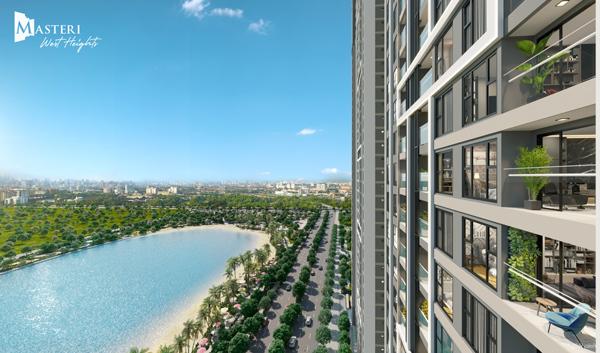 Cơ hội sở hữu căn hộ cao cấp Masteri West Heights không 'nặng gánh' tài chính