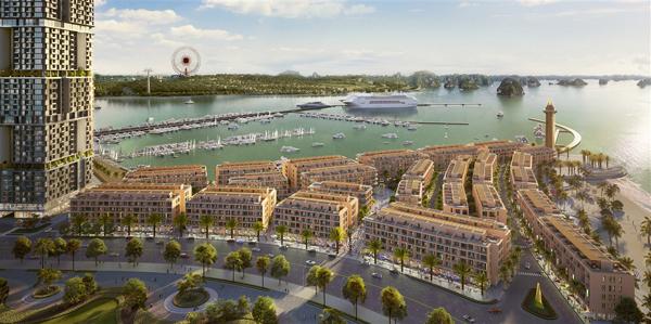 Sun Marina Town - cuộc sống thượng lưu bên vịnh du thuyền