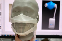 Anti-virus face mask makes wearers no longer feel stuffy