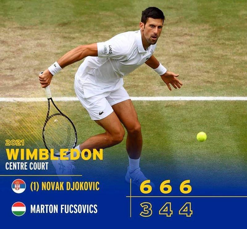 Djokovic đạt cột mốc đặc biệt, vào bán kết Wimbledon