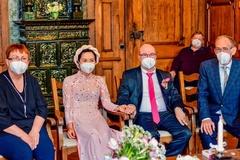 Đám cưới của cô dâu Việt và chồng Đức chỉ có 4 khách mời