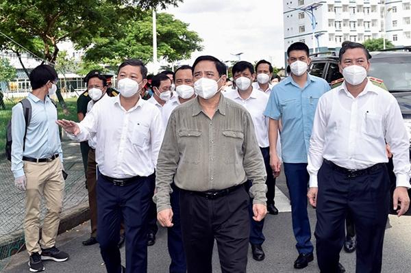 Thủ tướng Phạm Minh Chính đồng ý để TP.HCM áp dụng Chỉ thị 16
