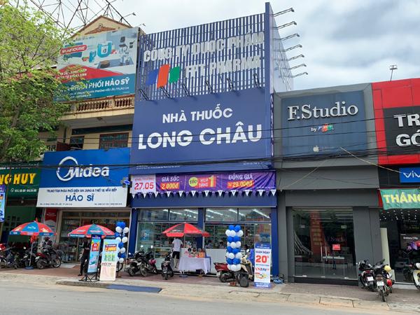 FPT Long Châu mở thêm 100 nhà thuốc trong vòng 6 tháng