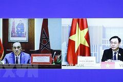 Vietnamese NA Chairman holds talks with Speaker of Moroccan lower house