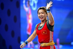Duyen chosen as Vietnam's female weightlifter at Olympics