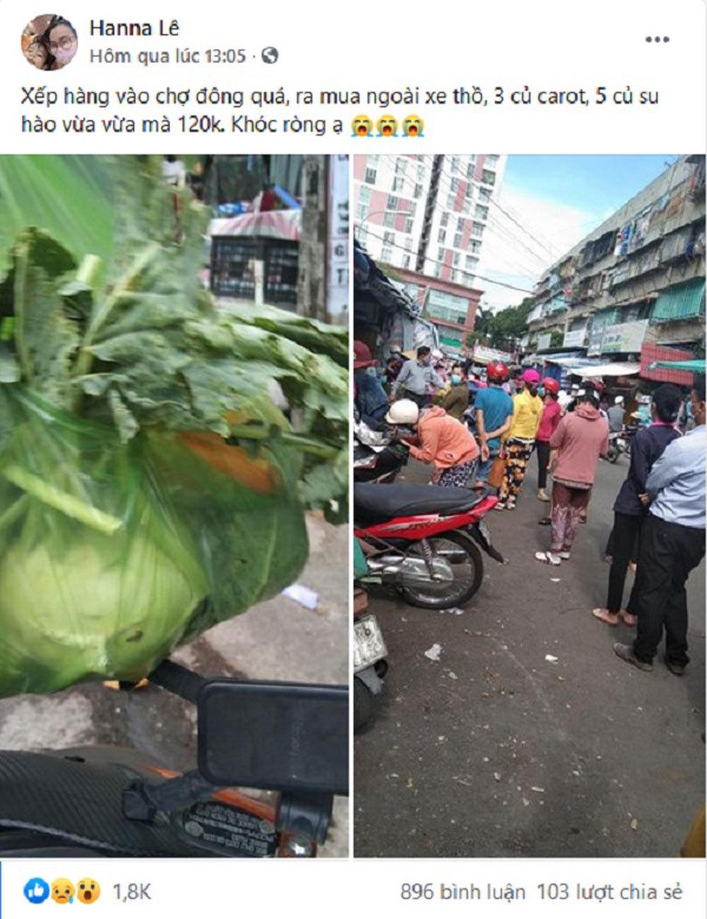 Sài Gòn trước cách ly: Rau xanh tăng dựng đứng, giá trứng lên gấp đôi