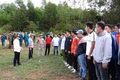 300 chiến sỹ cùng chó nghiệp vụ truy tìm nghi can giết mẹ vợ ở Quảng Bình