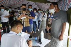 Quảng Ninh: Tài xế sẽ được xét nghiệm nhanh Covid-19 tại chốt kiểm soát