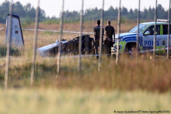 Rơi máy bay ở Thụy Điển, nhiều người tử nạn