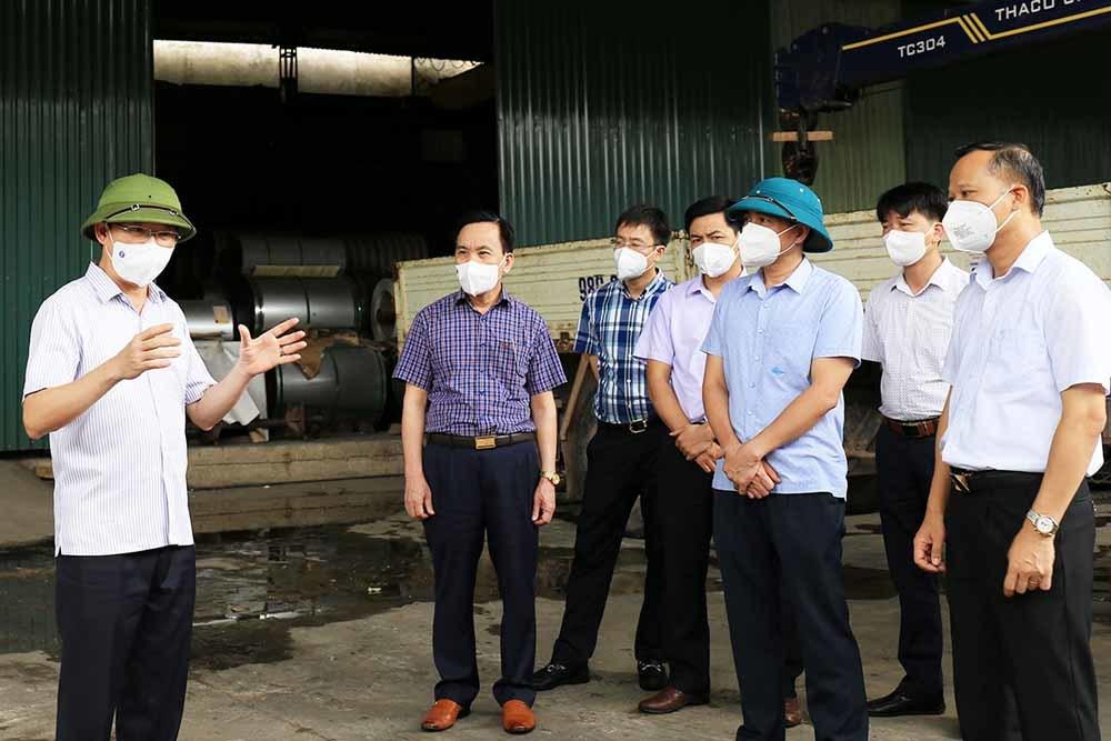 Liên tiếp phát sinh ca mắc Covid-19, Chủ tịch TP Bắc Giang bị phê bình