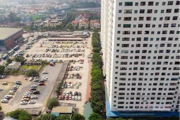 Parking space,urban infrastructure,Hanoi