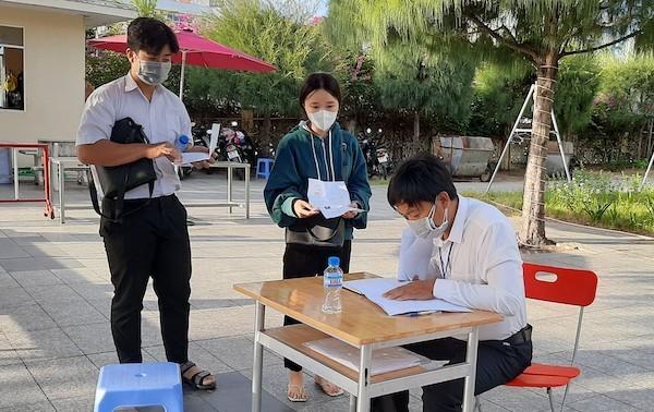 Một thí sinh dương tính với nCoV ở Phú Yên