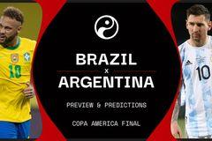 Link xem trực tiếp Brazil vs Argentina: Chung kết Copa America