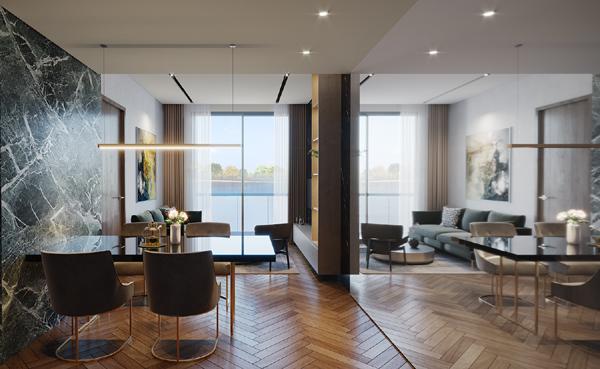 'Chìa khóa' tạo khác biệt của các dự án căn hộ cao cấp