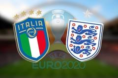 Xem trực tiếp chung kết EURO Anh vs Italy ở đâu, kênh nào?