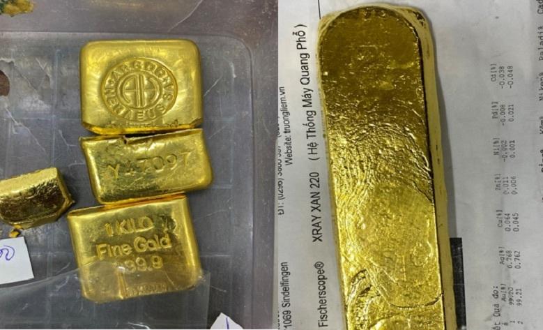 Cảnh sát thu giữ 36kg vàng, 1,2 triệu USD vụ bắt 'bà trùm' Mười Tường
