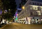 Images of famous places in HCM City during social distancing