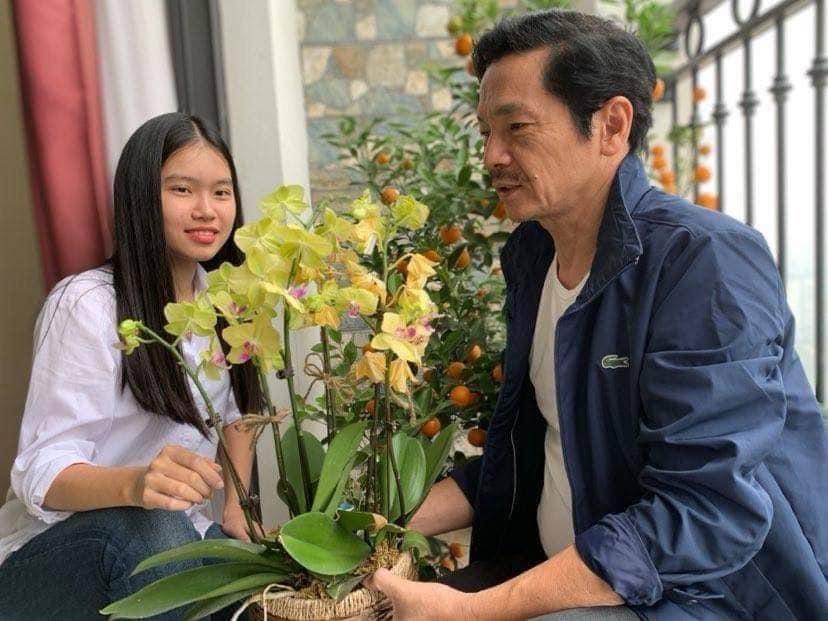 Lời xúc động NSND Trung Anh viết cho con gái