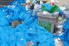 TPHCM: Rác thải khu cách ly chất đống, Sở Tài nguyên Môi trường nói gì?