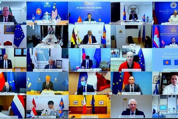 Việt Nam coi trọng và đóng góp tích cực cho quan hệ đối tác chiến lược ASEAN-EU