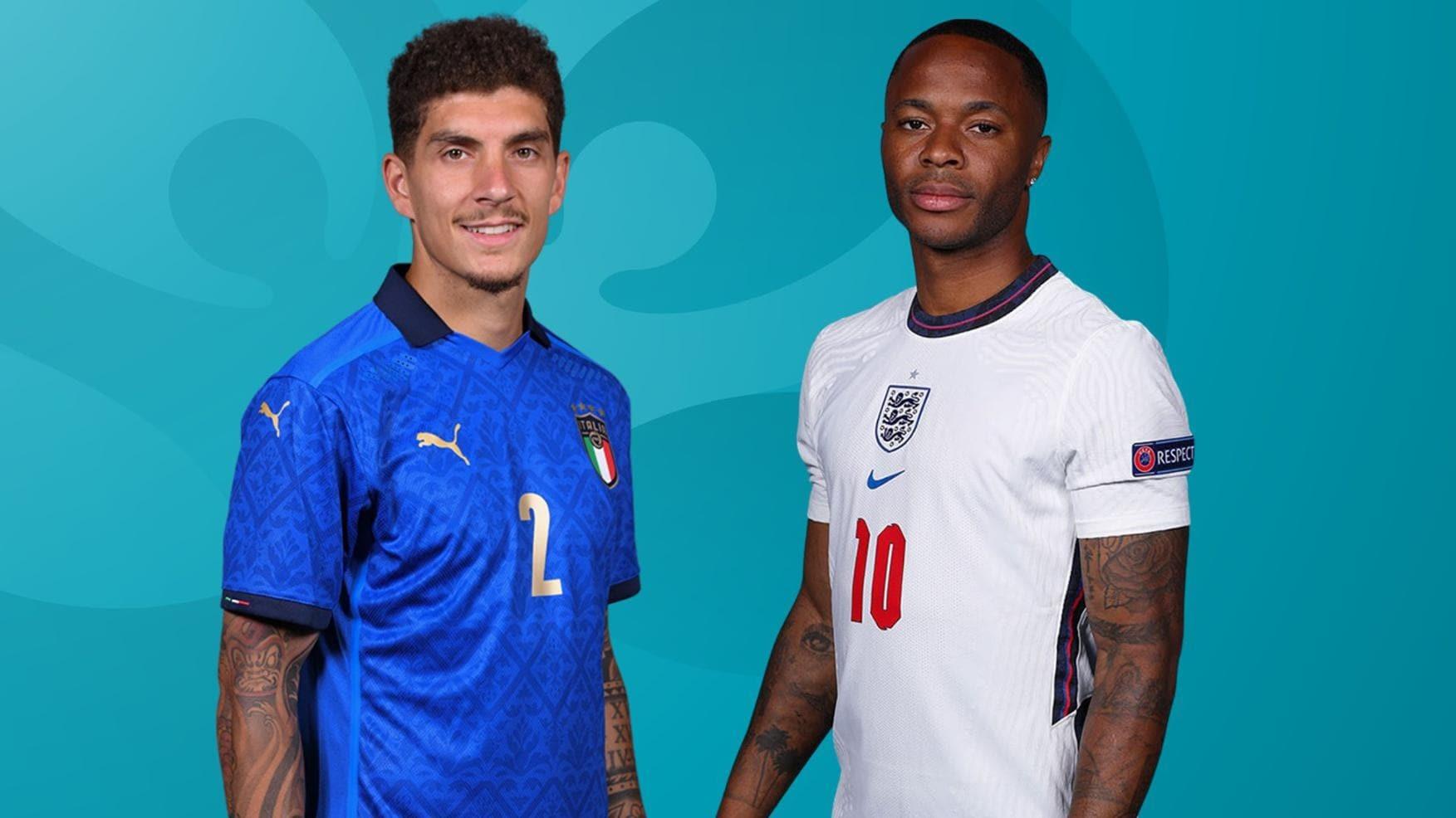 Italy vs Anh: 4 điểm nóng quyết định chung kết EURO 2020