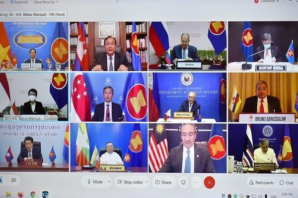 2021 là dấu mốc trong quan hệ 30 năm ASEAN-Nga, hai bên nhất trí tạo sức bật mới trong quan hệ
