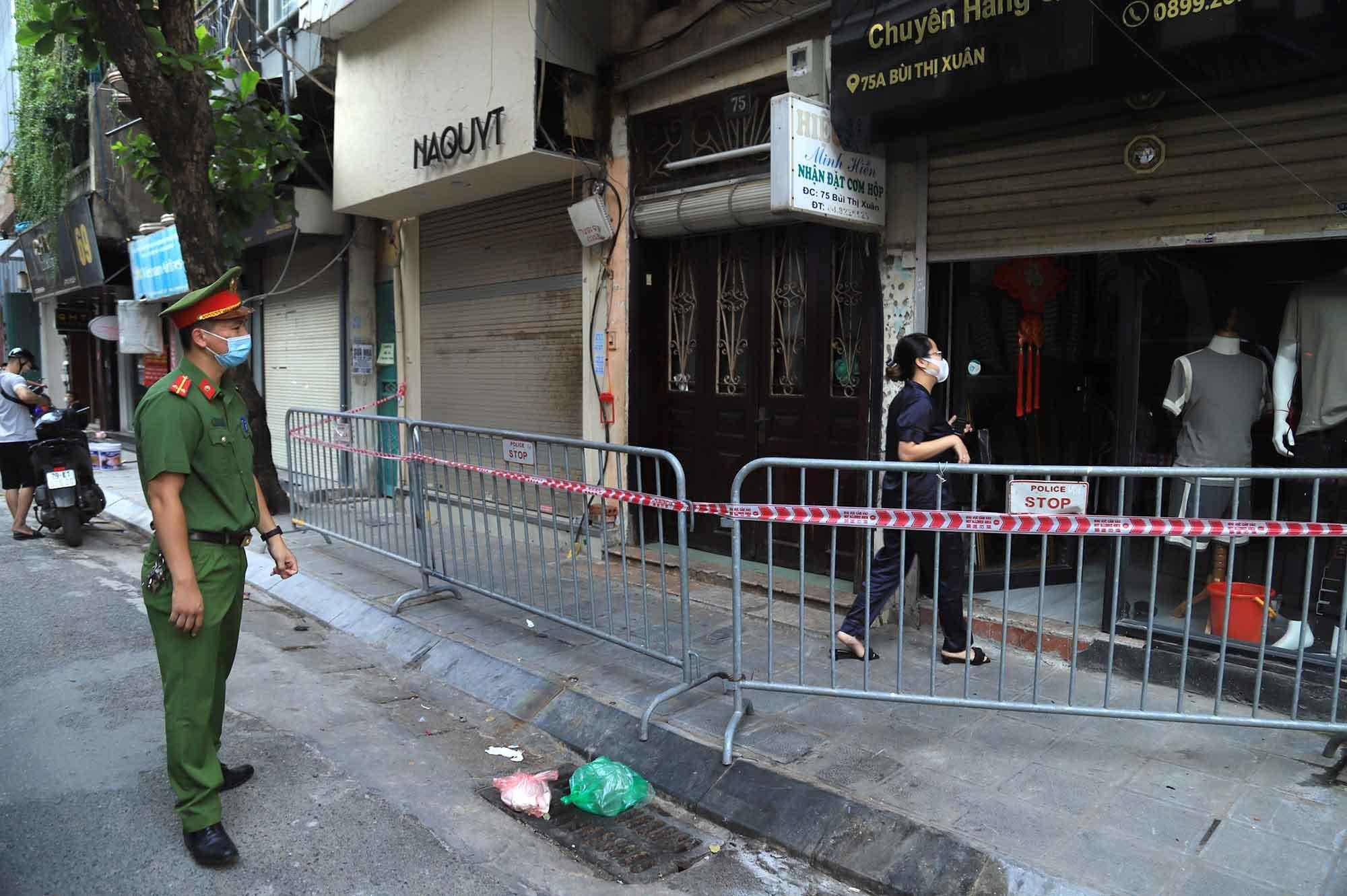 Nhiều hàng quán ở Hà Nội đóng cửa do liên quan ca F0 về từ TP.HCM
