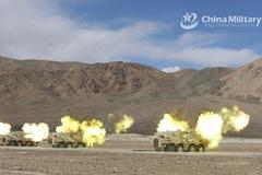 Trung Quốc dồn dập tập trận ở nhiều nơi