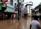 Thành phố Trung Quốc chìm trong nước