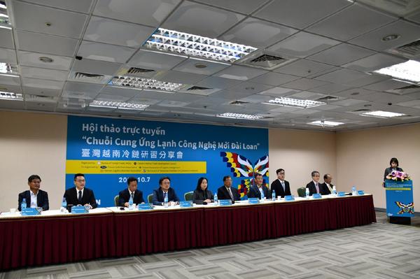 Chuỗi cung ứng lạnh Việt Nam hút DN Đài Loan
