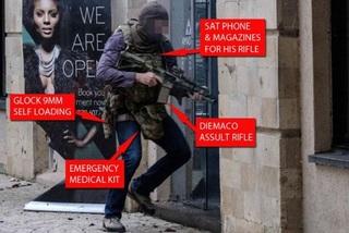 Những vũ khí độc đáo của đặc nhiệm chống khủng bố Anh