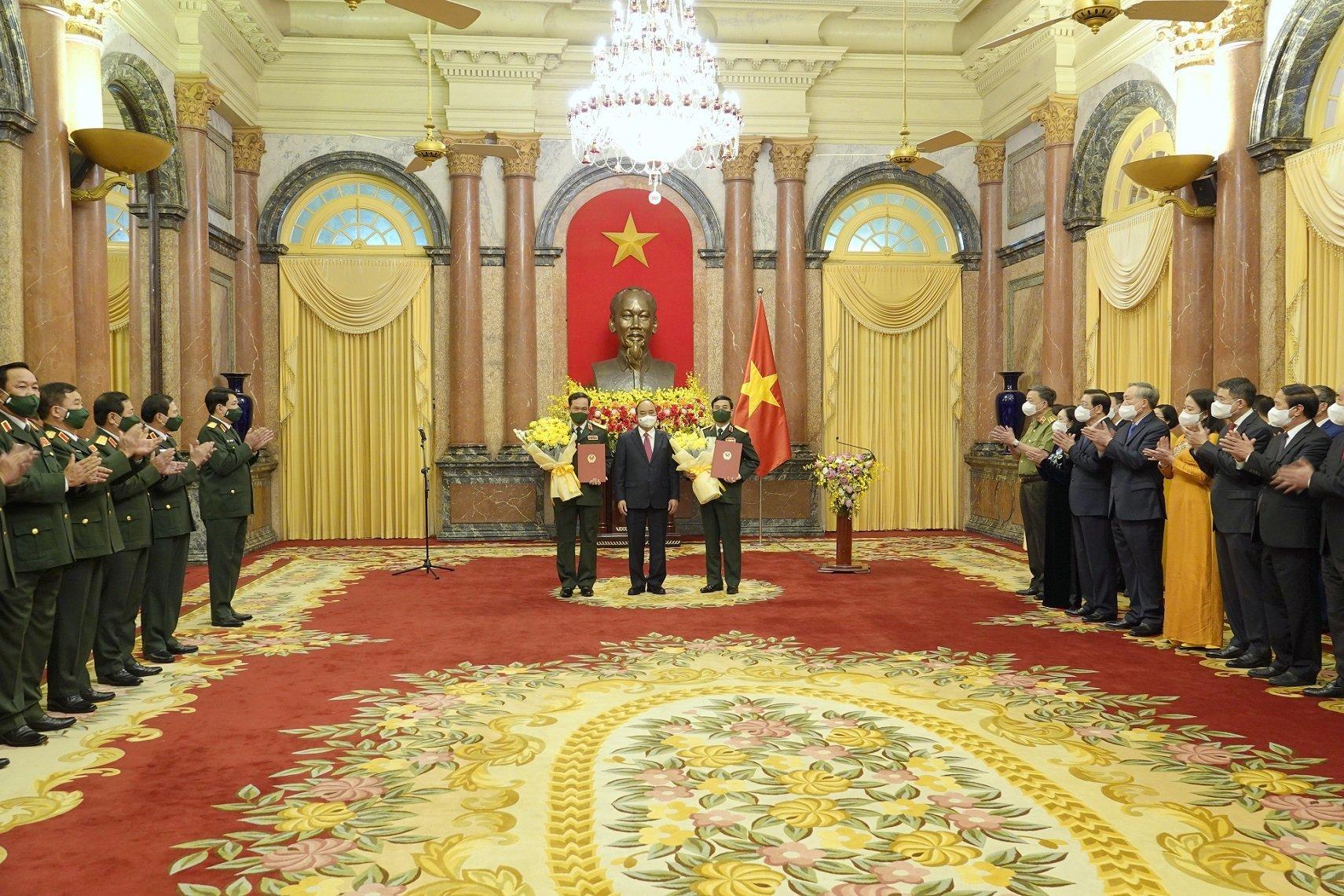 Bộ trưởng Quốc phòng Phan Văn Giang được thăng quân hàm Đại tướng