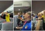 Nhà vô địch EURO hát vang 'Mùa hè Italia 90' trên xe bus