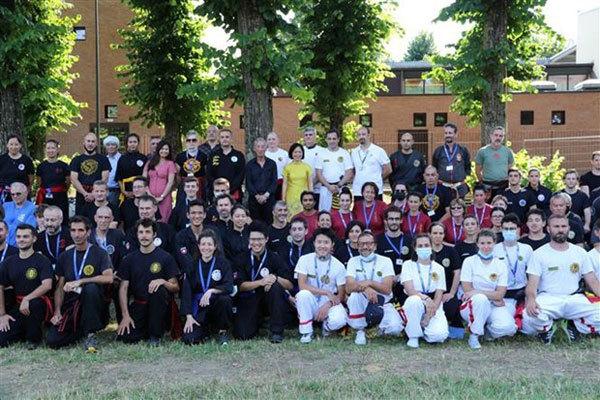 Italy,Vietnam traditional martial arts