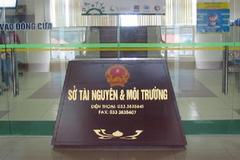Loạt lãnh đạo Sở Tài nguyên Môi trường Quảng Ninh bị kỷ luật