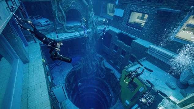 Bể lặn sâu nhất thế giới chứa cả thành phố dưới nước