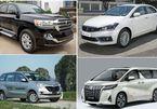 Top 10 xe bán chậm nhất tháng 6: Hai mẫu Toyota doanh số bằng 0
