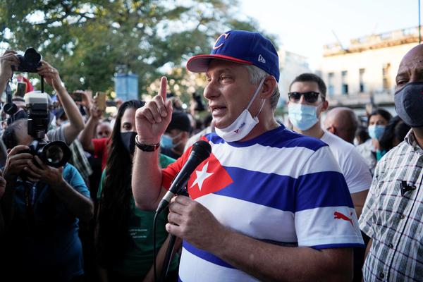 Biểu tình ở Havana, Cuba cáo buộc Mỹ kích động bất ổn xã hội