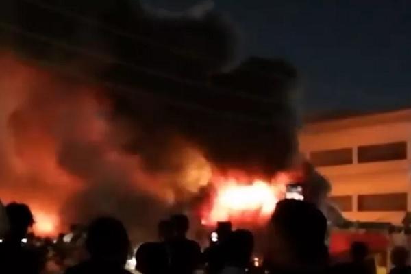 Cháy bệnh viện điều trị Covid-19 ở Iraq, hàng chục người thiệt mạng