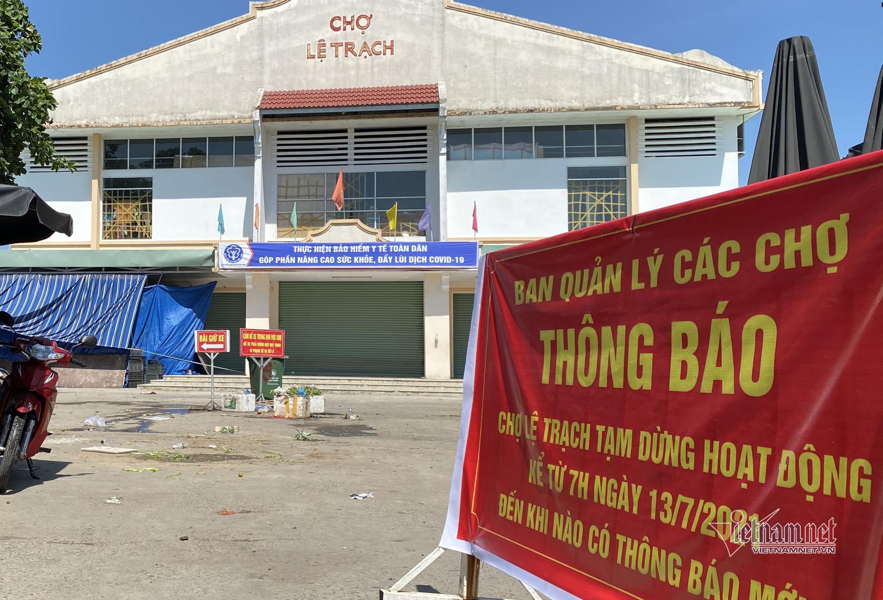 Có F0 ghé mua hàng, Đà Nẵng đóng cửa một chợ, xét nghiệm 300 tiểu thương