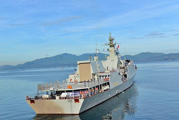 Biên đội tàu hộ vệ tên lửa của Việt Nam lên đường thi đấu Army Games